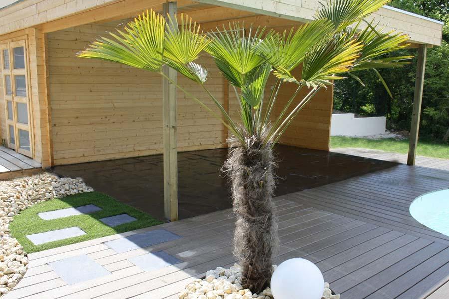 Pasquet Paysage s'occupe de l'installation de vos abris de jardin.